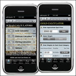 iPhone Scrap Calculator App